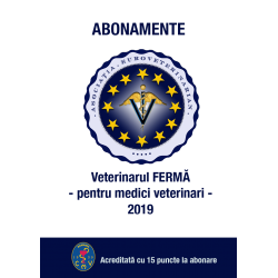 2019 - Revista Veterinarul FERMA abonament 2019