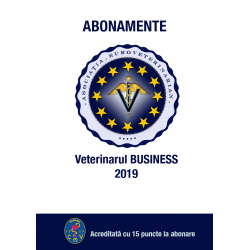 2019 - Revista Veterinarul Business abonament 2019